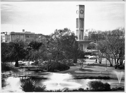 Square Gardens and Clock Tower
