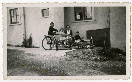 Ron, Audrey, Clarice and Barbara Weston-Webb