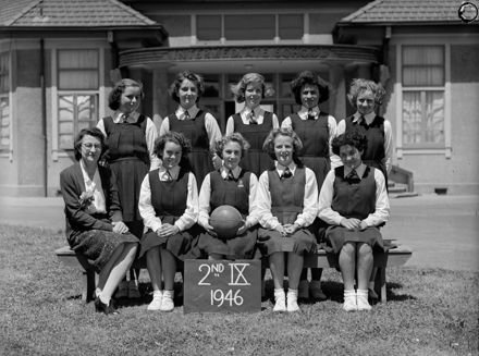 Palmerston North Intermediate Normal School Basketball Second IX