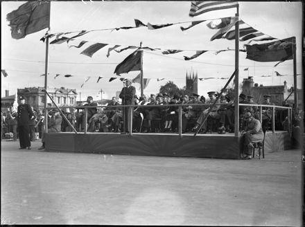 Peace celebrations, The Square