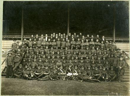 5th Wellington Regiment at Awapuni Military Camp