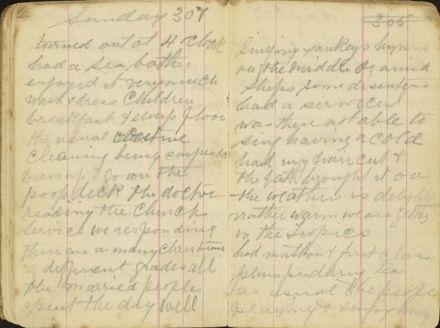 Shipboard diary p17