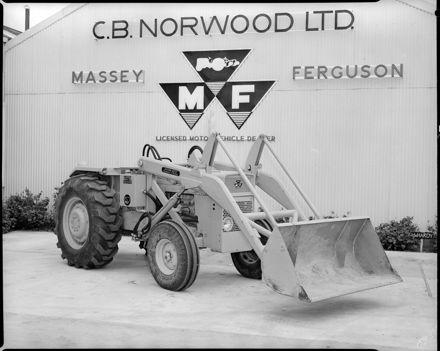 C.B. Norwood - Massey Ferguson Tractor