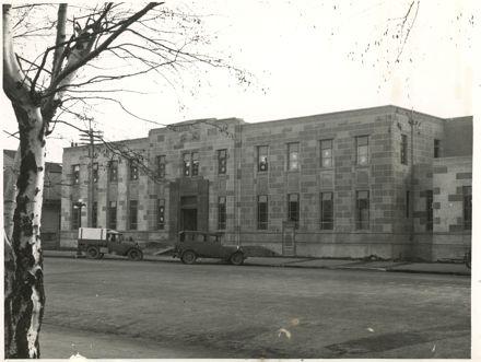Police Station, Church Street, Palmerston North