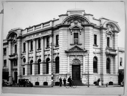Bank of New Zealand, corner of The Square and Rangitikei Street