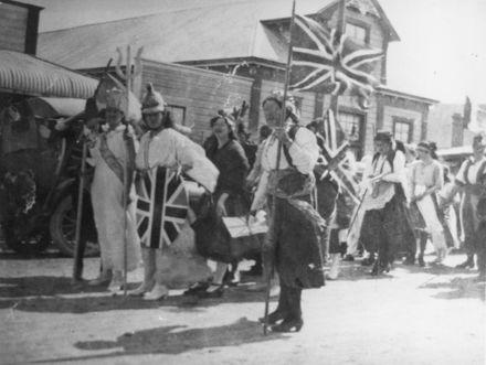 Rongotea Armistice Day parade
