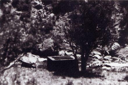 Settlement box at Kahuterawa Stream