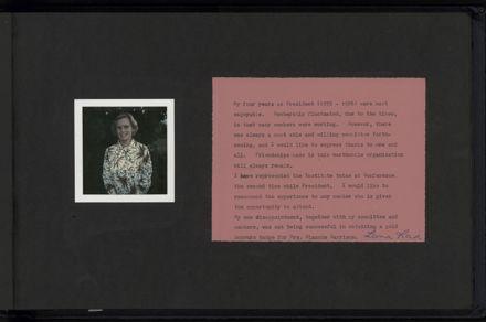 Linton CWI photograph album