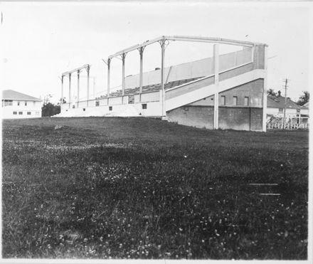 Storm Damaged Main Stand, Awapuni Racecourse