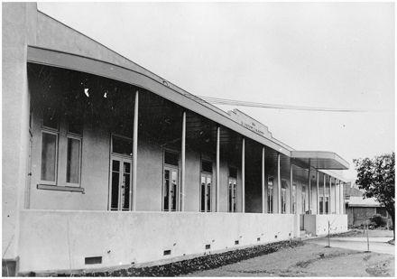 Northcote Hospital verandah, Grey Street