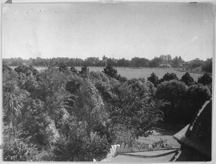 A View of Fitzherbert Park from the Rotunda in the Victoria Esplanade