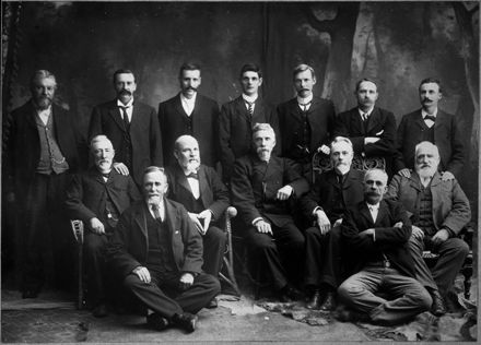 Delegates to the Friendly Societies conference