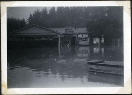 Rose's Store, Rangiotu Flood