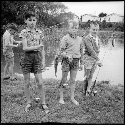 """""""Getting In Some Practice"""" Fishing Competition"""