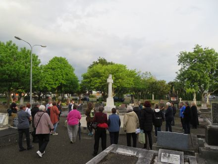 Local History Week 2020 - Terrace End Cemetery by Twilight