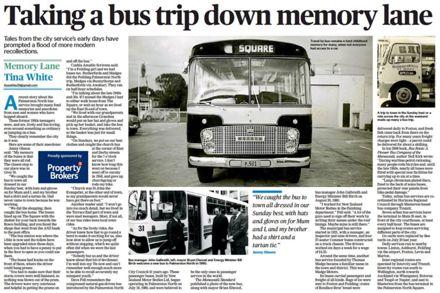 """Memory Lane - """"Taking a bus trip down memory lane"""""""