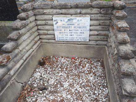 Robert Reaburn gravesite
