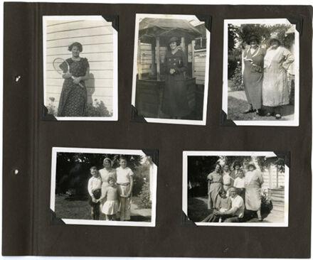 Barrow Family Photograph Album Page 3