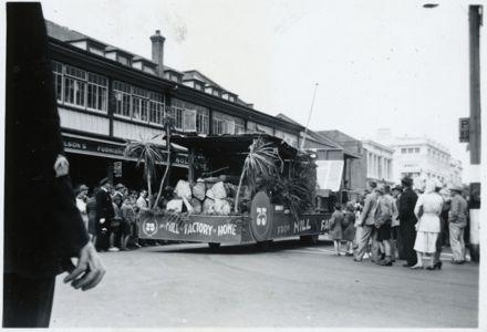 Manawatu Joinery Float - 1952 Jubilee Celebrations