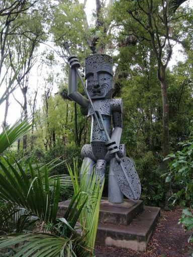 The Whatonga sculpture, Te Āpiti - Manawatū Gorge