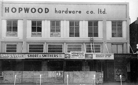 Hopwood Hardware Co., Broadway