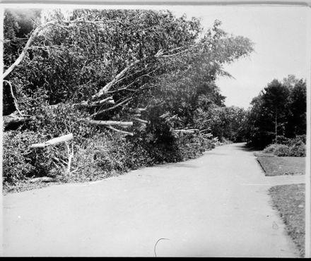 Victoria Drive at Esplanade after Storm