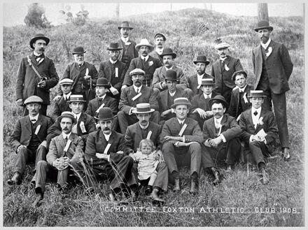 Foxton Athletics Club committee