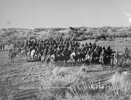 Manawatu Mounted Rifles at Foxton