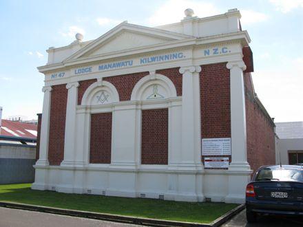 Manawatū Kilwinning Lodge No. 47, Church Street