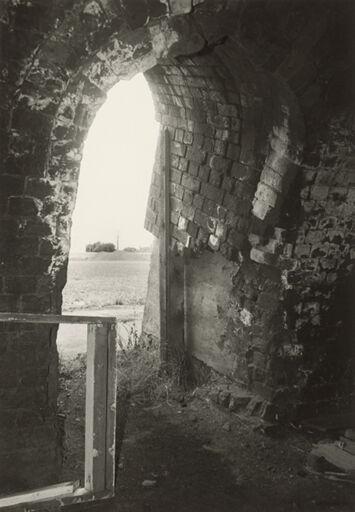 Interior of Hoffman brick kiln, Featherston Street