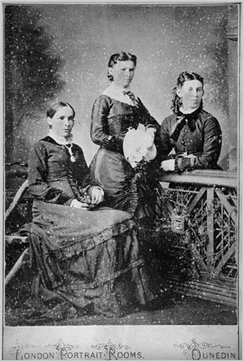 Emma Hamilton and her sisters