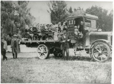 Amey's Truck on a Sunday School Picnic