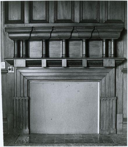 Caccia Birch Main Room Fireplace
