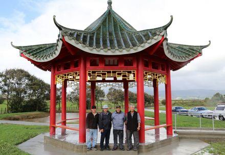 New Chinese Gazebo for Kelvin Grove Cemetery