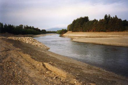 Manawatū River earthworks