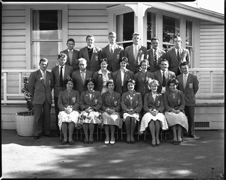 Group of Students, Palmerston North Teachers' College