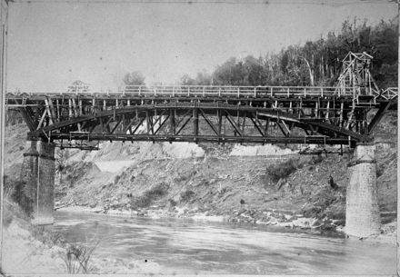 Upper Manawatu Gorge Bridge