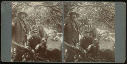 Four men in the bush