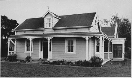 Voss homestead, Palmerston North – Foxton Highway