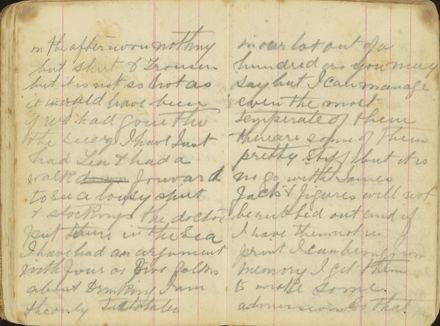 Shipboard diary p21