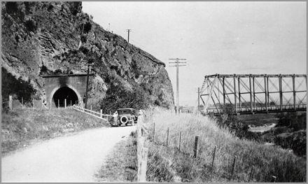 Manawatu Gorge eastern end