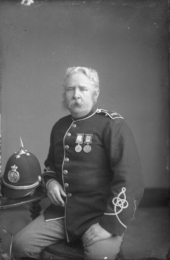 Member of the Manawatu Mounted Rifles