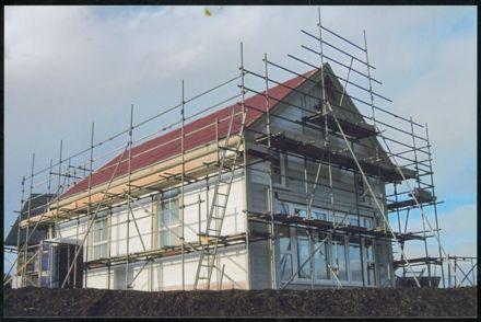 Former Ashhurst Methodist Church at new location