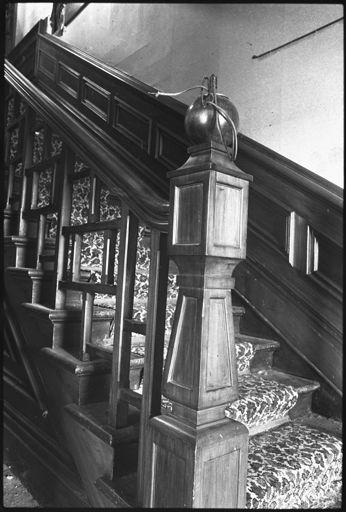 Main Staircase of Caccia Birch House