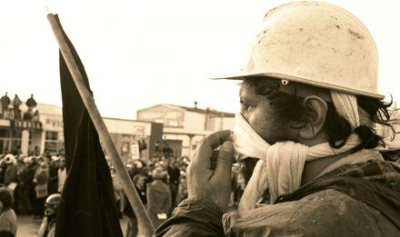 Anti-Apartheid and anti-Tour protest