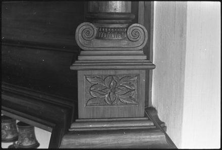Fireplace detail at 'Waimarama', 46 Alfred Street