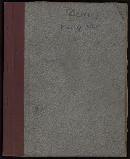 Ann Jacques diary 1941-1942