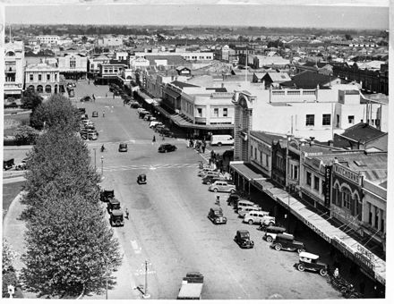 Panorama of The Square, 1937 3