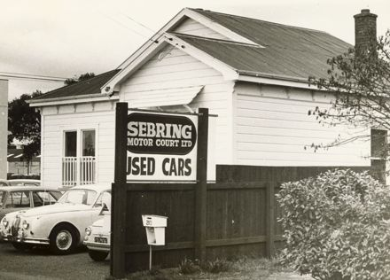 Seabring Motor Court Ltd, corner of Featherson and Taonui Streets