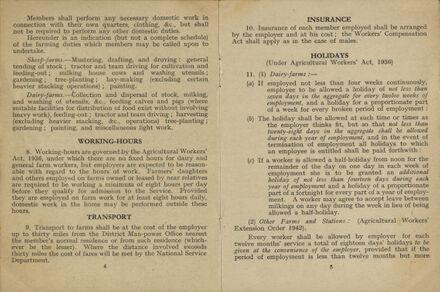 New Zealand Women's Land Service Handbook of Information: Page 3